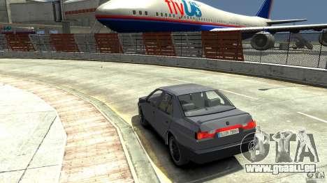 Alfa Romeo 155 pour GTA 4 Vue arrière de la gauche