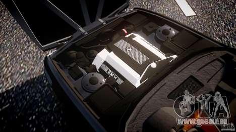 BMW 5 Series E34 540i 1994 v3.0 für GTA 4 Unteransicht