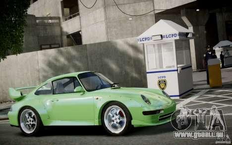 Porsche 911(993) GT2 1995 pour GTA 4 est une vue de dessous