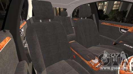 Mercedes-Benz S W221 Wald Black Bison Edition für GTA 4 Innenansicht