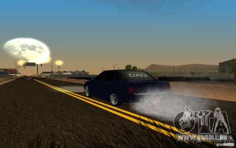 Tuning de voiture LADA PRIORA pour GTA San Andreas vue arrière