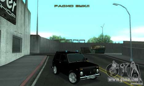 VAZ 21213 NIVA FBI für GTA San Andreas