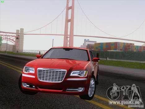 Chrysler 300 Limited 2013 pour GTA San Andreas sur la vue arrière gauche
