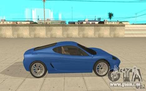 Turismo von GTA 4 für GTA San Andreas linke Ansicht