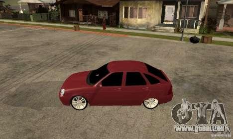 VAZ Lada Priora 2172 LT pour GTA San Andreas laissé vue