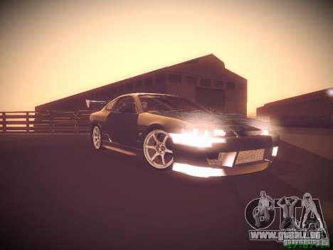 Nissan Silvia S15 für GTA San Andreas Innenansicht