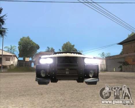 Police NFS UC pour GTA San Andreas laissé vue
