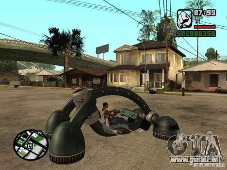 New Bravura UFO für GTA San Andreas