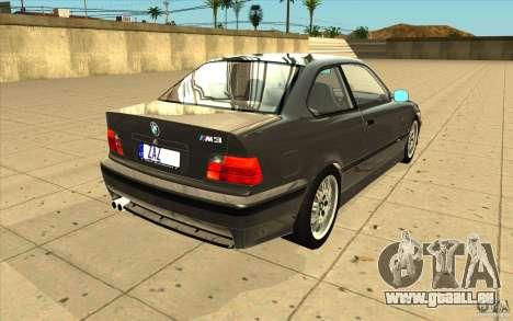 BMW E36 M3 - Stock für GTA San Andreas Seitenansicht
