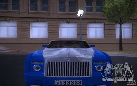 Rolls-Royce Phantom Drophead Coupe für GTA San Andreas
