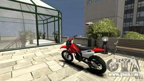 Yamaha Cross für GTA 4 hinten links Ansicht