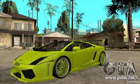 Lamborghini Gallardo LP560-4 Hamann für GTA San Andreas