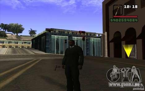 Nouvelle canne pour GTA San Andreas deuxième écran