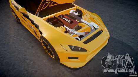 Calme de Honda S2000 Tuning 2002 3 peau pour GTA 4 Salon