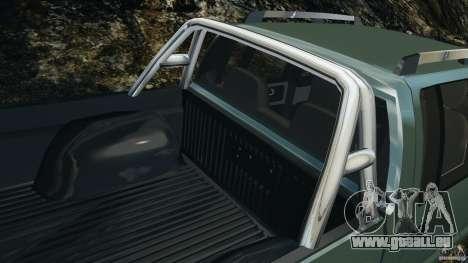 Chevrolet S-10 Colinas Cabine Dupla pour GTA 4 roues