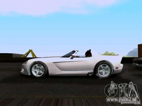 Dodge Viper SRT-10 Custom für GTA San Andreas linke Ansicht