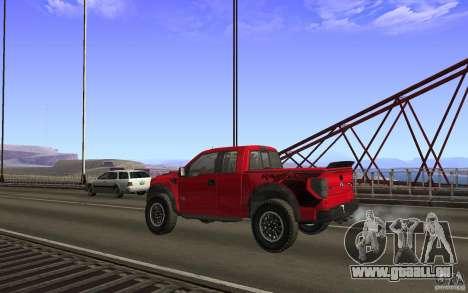 Ford F150 SVT RapTor für GTA San Andreas Innen