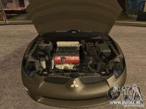 Mitsubishi Eclipse pour GTA San Andreas vue de droite
