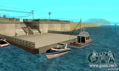 GTAIV Tropic pour GTA San Andreas vue de côté