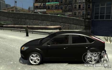Ford Focus 2009 pour GTA 4 est une gauche