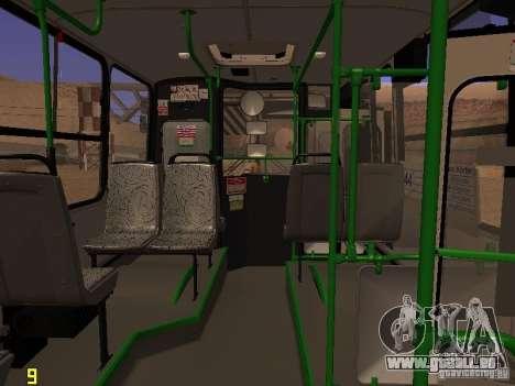 Ikarus C63 pour GTA San Andreas vue arrière