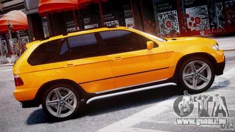 BMW X5 E53 v1.3 pour GTA 4 est une gauche