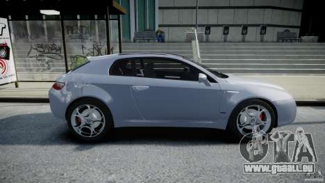 Alfa Romeo Brera Italia Independent 2009 pour GTA 4 est une vue de l'intérieur