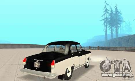 GAZ-21 Volga für GTA San Andreas linke Ansicht
