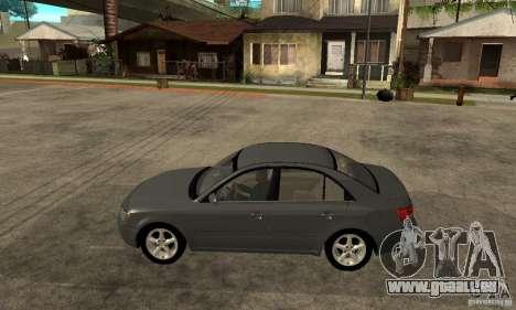 Hyundai Sonata 2008 hd für GTA San Andreas linke Ansicht