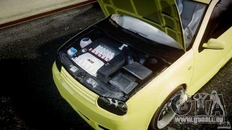Volkswagen Golf IV R32 für GTA 4 Innenansicht