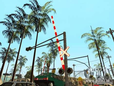 PASSAGE à niveau RUS pour GTA San Andreas quatrième écran