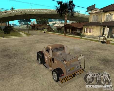 1951 Ford Wrecker pour GTA San Andreas laissé vue
