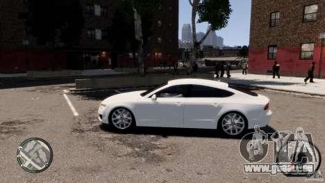 Audi A7 Sportback pour GTA 4 est une gauche