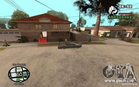 New CJs House pour GTA San Andreas deuxième écran