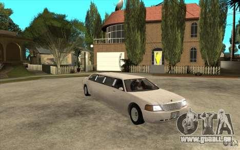 Stretch - GTA IV pour GTA San Andreas vue arrière