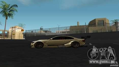 BMW E92 M3 für GTA San Andreas linke Ansicht