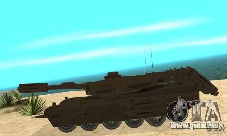 Rhino Tank Megatron pour GTA San Andreas laissé vue