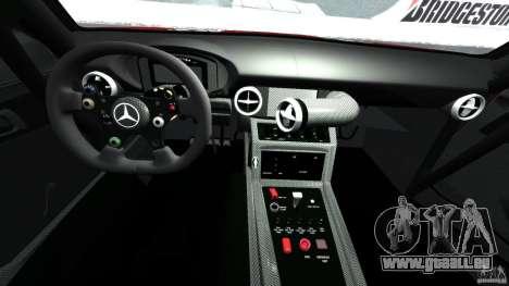 Mercedes-Benz SLS AMG GT3 2011 v1.0 für GTA 4 Rückansicht