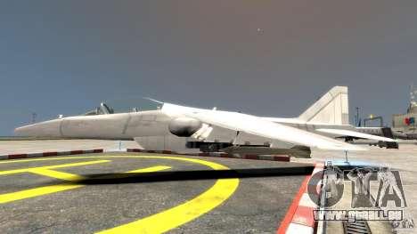 Liberty City Air Force Jet für GTA 4 linke Ansicht