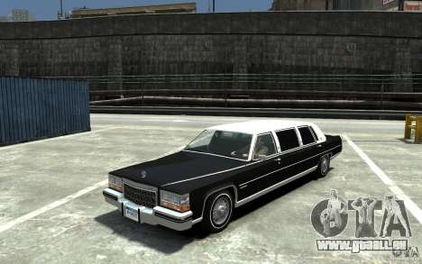 Cadillac Fleetwood Limousine 1985 [Final] pour GTA 4