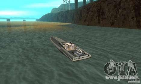 Tschilpjes Jetmax pour GTA San Andreas sur la vue arrière gauche