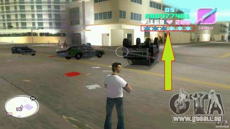 Wanted Level = 0 pour GTA Vice City