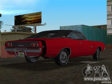 Dodge Charger 426 R/T 1968 v1.0 für GTA Vice City linke Ansicht