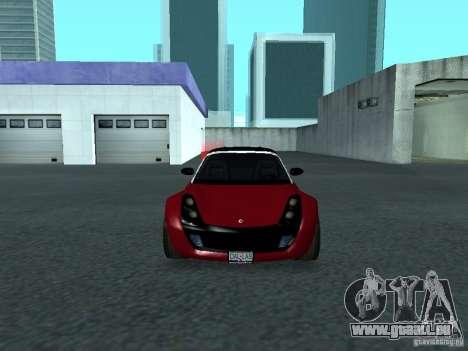 Smart Roadster Coupe für GTA San Andreas Seitenansicht