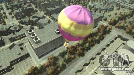 Balloon Tours option 9 für GTA 4 hinten links Ansicht