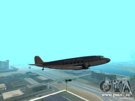 Bombes pour avions pour GTA San Andreas cinquième écran
