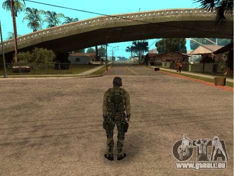 Der Haut-Armee-Ingenieur für GTA San Andreas zweiten Screenshot