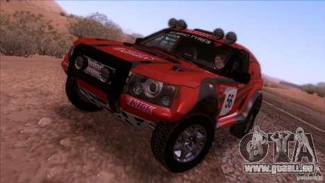 Range Rover Bowler Nemesis pour GTA San Andreas