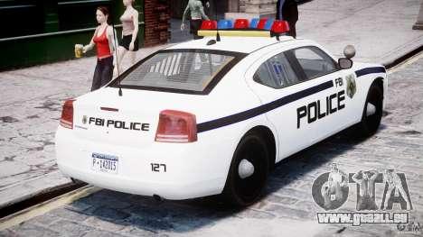 Dodge Charger FBI Police für GTA 4 obere Ansicht