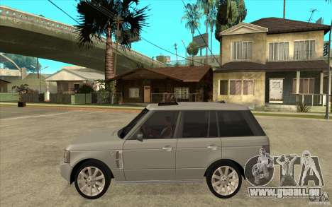 Land Rover Range Rover Supercharged 2009 für GTA San Andreas linke Ansicht